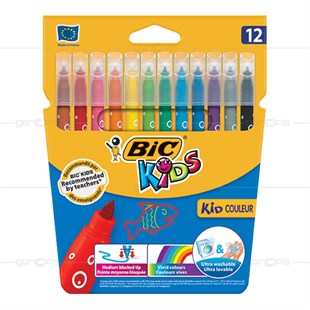 Bic Kid Kid Couleur 12li
