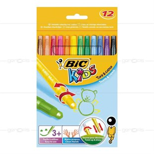 Bic Kids Turn&Colour 12li