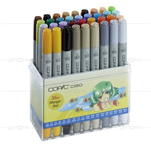 Copic Ciao 36er Renk Manga Set