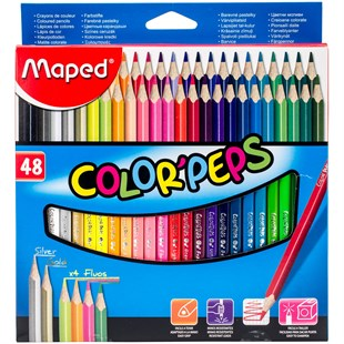 Maped Color Peps 48 Renk Kuru Boya