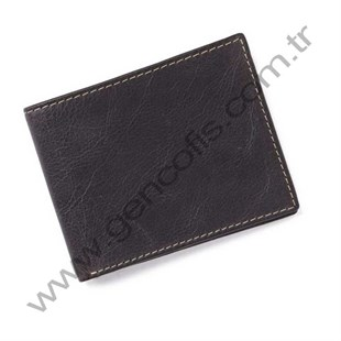 Crunch Leather Wallet