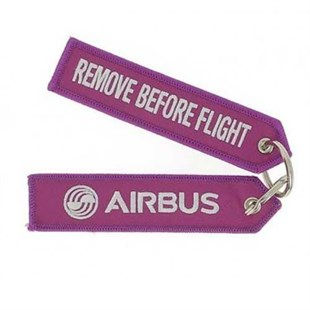"Pembe ""Remove Before Flight"" Anahtarlık"